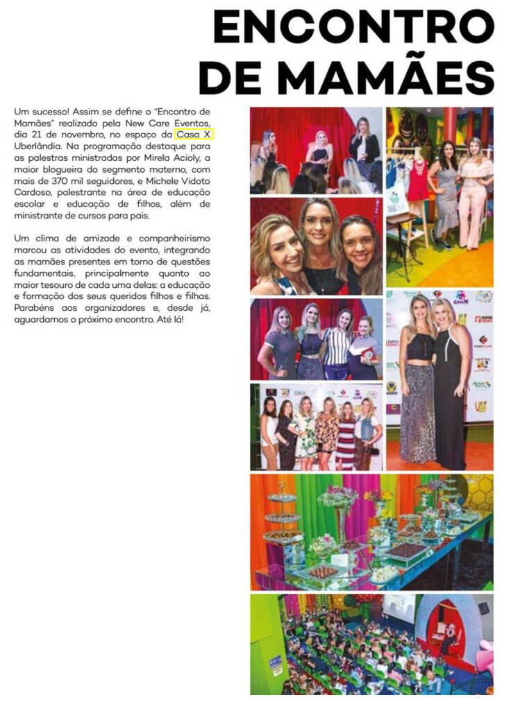 Revista Cult destaca evento na Casa X