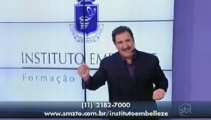 Vídeo Instituto Embelleze no Programa do Ratinho (27 fev 2012)